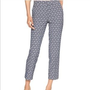 Banana Republic Avery Art Deco Stretch Ankle Pant
